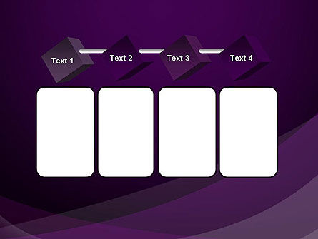 Abstract Violet PowerPoint Template Slide 18