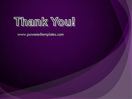 Abstract Violet PowerPoint Template Slide 20