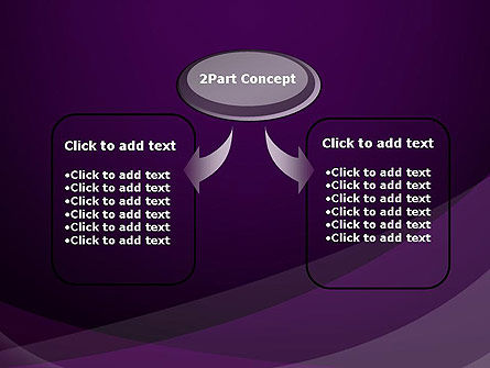 Abstract Violet PowerPoint Template Slide 4