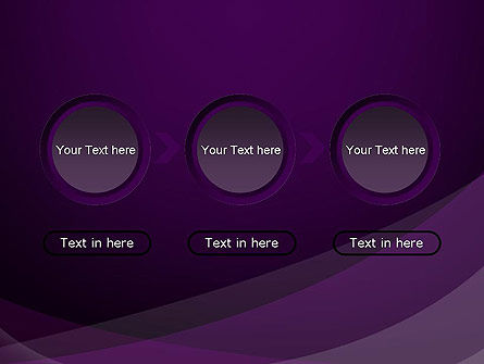 Abstract Violet PowerPoint Template Slide 5