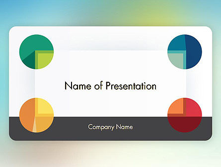 Abstract/Textures: Business Card Style PowerPoint Template #12289
