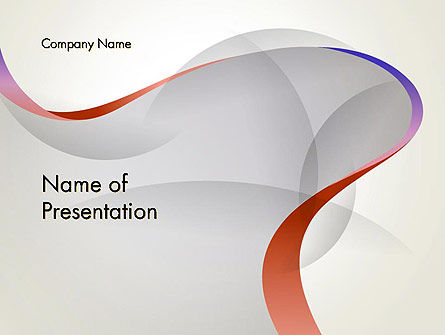 Elegant Wave PowerPoint Template