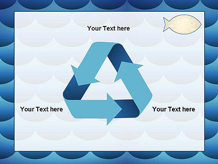 Fish Theme Background PowerPoint Template Slide 10