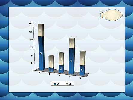 Fish Theme Background PowerPoint Template Slide 17