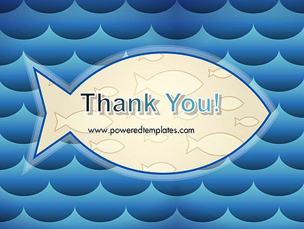Fish Theme Background PowerPoint Template Slide 20