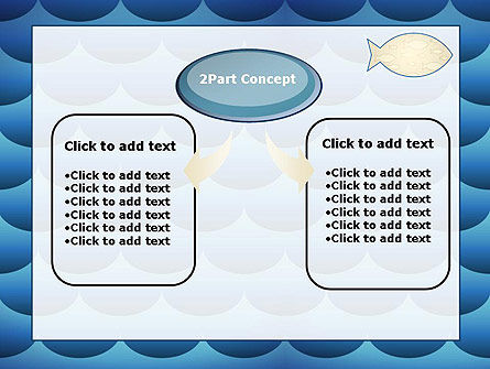 Fish Theme Background PowerPoint Template Slide 4