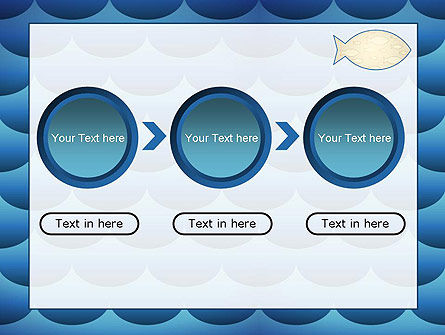 Fish Theme Background PowerPoint Template Slide 5