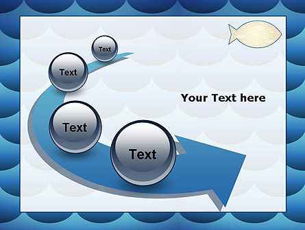 Fish Theme Background PowerPoint Template Slide 6