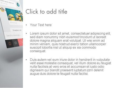 Application Screens Mockup PowerPoint Template, Slide 3, 12294, Art & Entertainment — PoweredTemplate.com