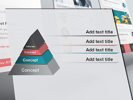 Application Screens Mockup PowerPoint Template Slide 12