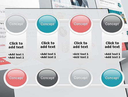 Application Screens Mockup PowerPoint Template Slide 18