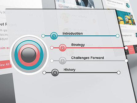 Application Screens Mockup PowerPoint Template Slide 3