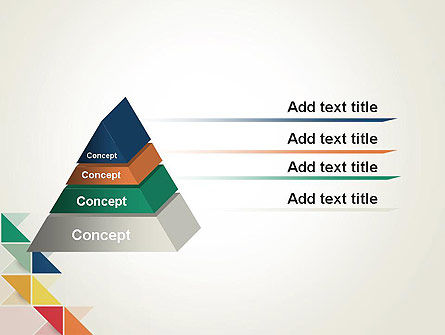 Colorful Triangles PowerPoint Template Slide 12