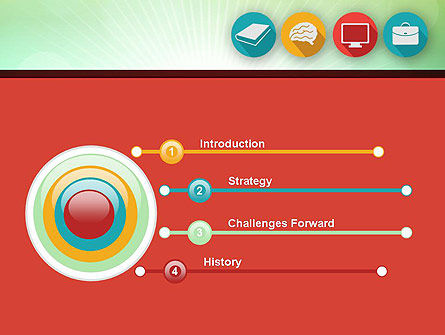 Education Icons PowerPoint Template Slide 3