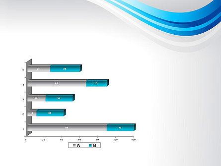 Elegant Blue Wave PowerPoint Template Slide 11