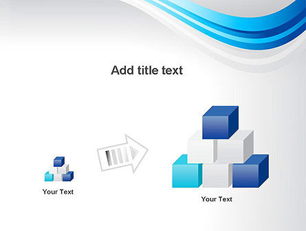 Elegant Blue Wave PowerPoint Template Slide 13