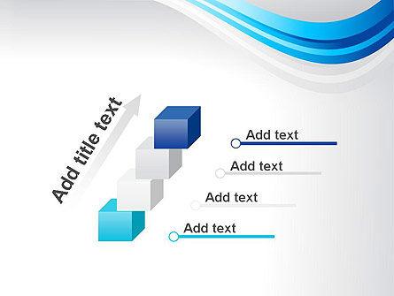 Elegant Blue Wave PowerPoint Template Slide 14