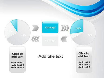Elegant Blue Wave PowerPoint Template Slide 16