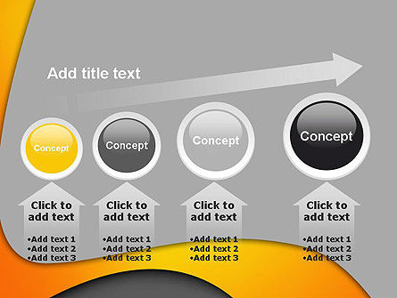 Flexible Waves PowerPoint Template Slide 13