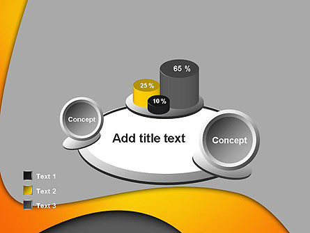 Flexible Waves PowerPoint Template Slide 16