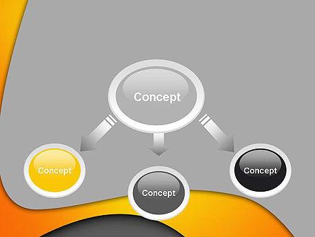 Flexible Waves PowerPoint Template, Slide 4, 12305, Abstract/Textures — PoweredTemplate.com