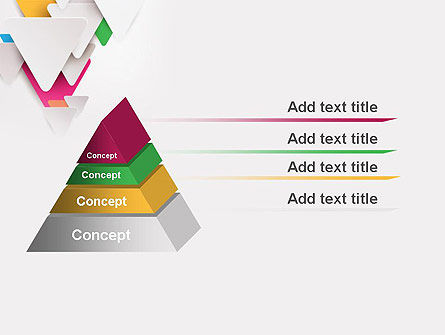 Layered Triangles PowerPoint Template Slide 12