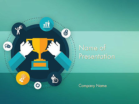 Abstract/Textures: Ambition Theme PowerPoint Template #12309