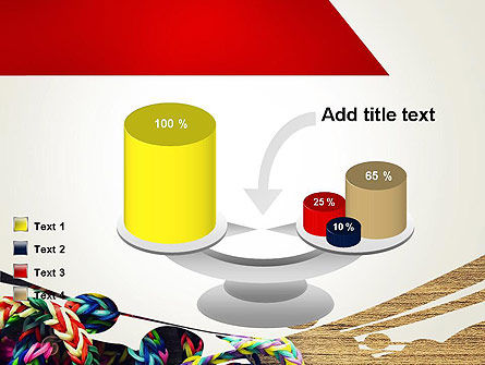 Rubber Band Bracelets PowerPoint Template Slide 10