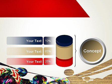 Rubber Band Bracelets PowerPoint Template Slide 11