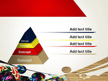 Rubber Band Bracelets PowerPoint Template Slide 12