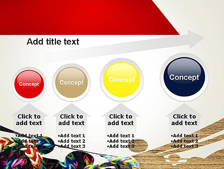 Rubber Band Bracelets PowerPoint Template Slide 13
