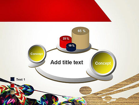 Rubber Band Bracelets PowerPoint Template Slide 16