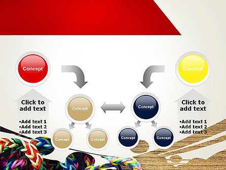 Rubber Band Bracelets PowerPoint Template Slide 19