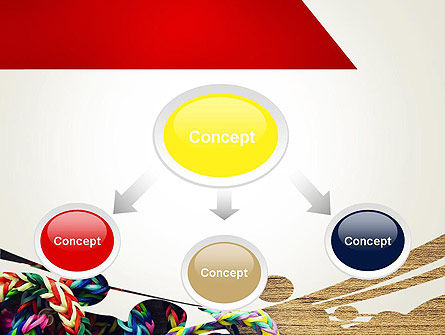 Rubber Band Bracelets PowerPoint Template Slide 4