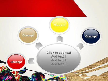 Rubber Band Bracelets PowerPoint Template Slide 7