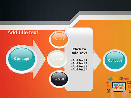 E-learning Icons PowerPoint Template Slide 17