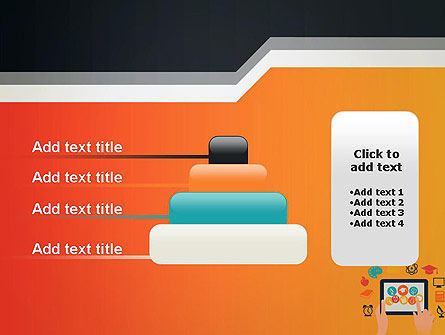 E-learning Icons PowerPoint Template Slide 8
