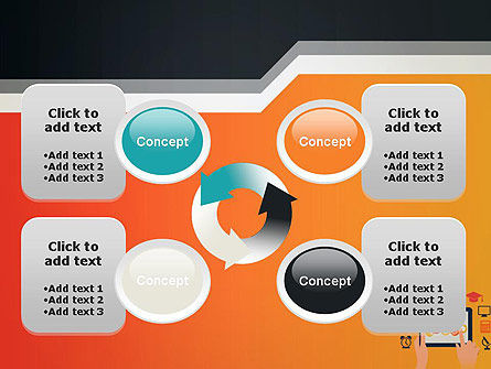 E-learning Icons PowerPoint Template Slide 9