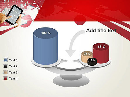 E-reading PowerPoint Template Slide 10