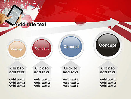 E-reading PowerPoint Template Slide 13