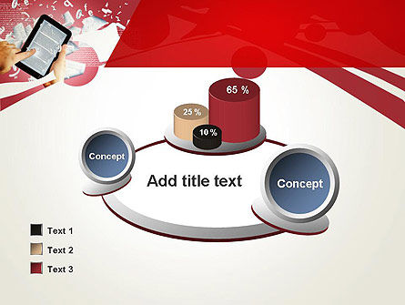 E-reading PowerPoint Template Slide 16