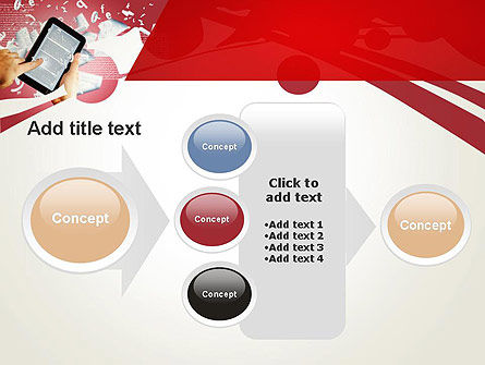 E-reading PowerPoint Template Slide 17