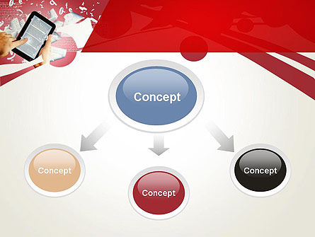 E-reading PowerPoint Template Slide 4