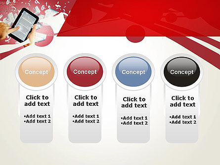 E-reading PowerPoint Template Slide 5