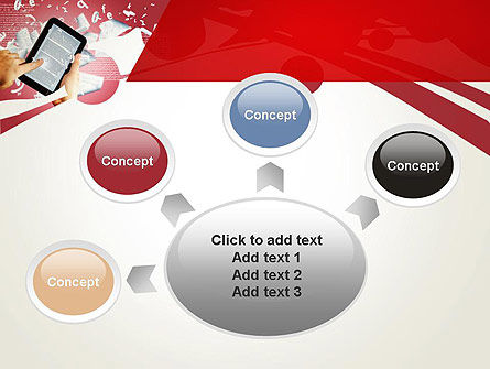 E-reading PowerPoint Template Slide 7