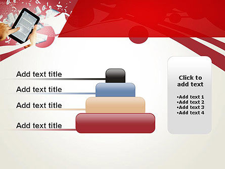 E-reading PowerPoint Template Slide 8