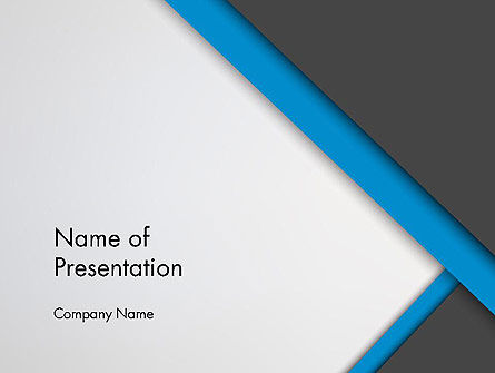 Cutting Edge PowerPoint Template, 12315, Abstract/Textures — PoweredTemplate.com
