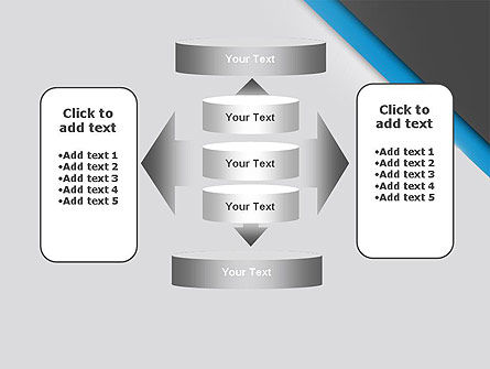 Cutting Edge PowerPoint Template Slide 13