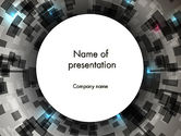 Abstract/Textures: Perspective Vision PowerPoint Template #12317