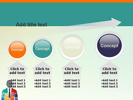 Jigsaw Person PowerPoint Template Slide 13